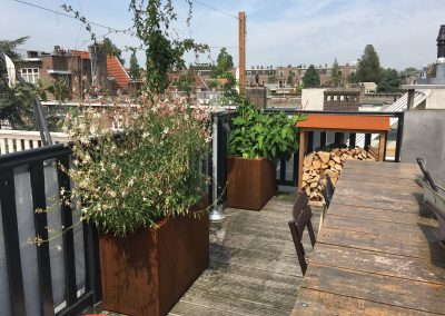 Dakterras Roofterrace Roofgarden Amsterdam